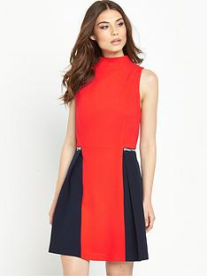 v-by-very-colour-block-zip-dress