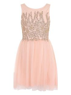 little-misdress-girls-embellished-mesh-dress