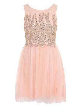 little-misdress-girls-embellished-mesh-dress