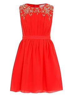 little-misdress-girls-embellished-chiffon-dress