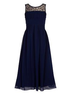 little-misdress-girls-embellished-neck-maxi-dress