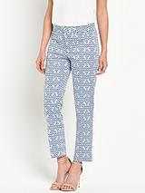 CorynnaHigh WaistedSlimming Ankle Trouser