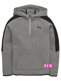 puma-older-boys-half-zip-hoody