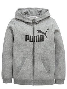 puma-puma-older-boys-essential-logo-full-zip-hoody