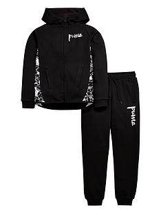 puma-older-girls-fleece-hoodienbspand-joggers-set