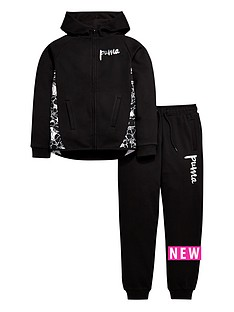 puma-older-girls-hooded-fleece-suit