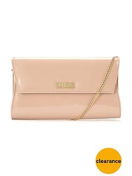 lipsy-patent-clutch-bag