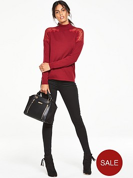 v-by-very-lace-insert-roll-neck-jumper