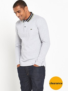 lacoste-sportswear-long-sleeved-tipped-polo