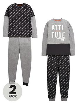 v-by-very-boys-attitude-lightning-pyjamas-2-pack