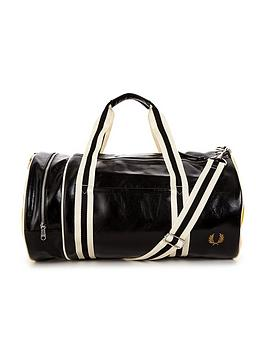 fred-perry-classic-barrel-bag
