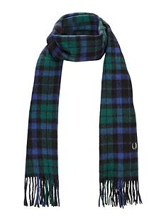 fred-perry-tartan-scarf