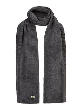 lacoste-ribbed-scarf