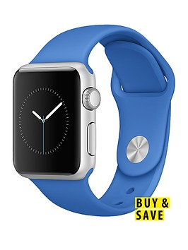 apple-watch-sportnbsp38mm-silver-aluminium-case-with-royal-blue-sport-band
