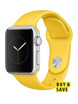 apple-watch-sport-38mm-silver-aluminium-case-with-yellow-sport-band