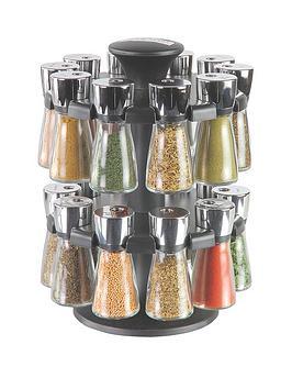 cole-mason-cole-amp-mason-hudson-20-jar-filled-herb-amp-spice-carouselrack