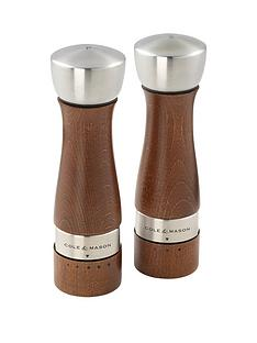 cole-mason-cole-amp-mason-oldbury-precision-walnut-stained-salt-amp-pepper-mill-gift-setbr-br