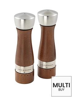 cole-mason-cole-amp-mason-oldbury-precision-walnut-stained-salt-amp-pepper-mill-gift-setbr-br