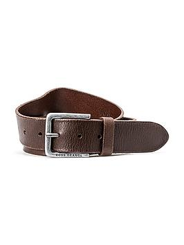 boss-orange-leather-belt-brown