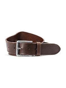 boss-orange-leather-belt