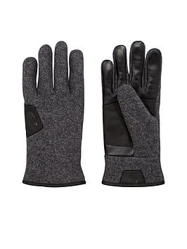 ugg-australia-ugg-smart-glove-with-leather-trim
