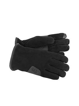ugg-australia-ugg-suede-smart-glove-with-leather-trim