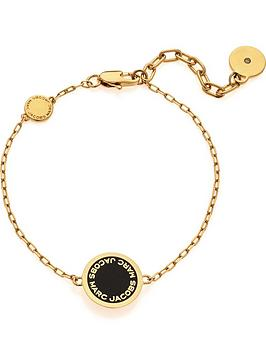 marc-jacobs-enamel-logo-bracelet-gold-plated