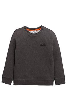 boss-crew-neck-sweat-top