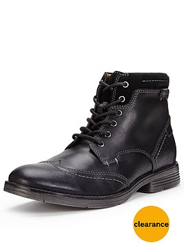 clarks-devington-hi-brogue-boot-black