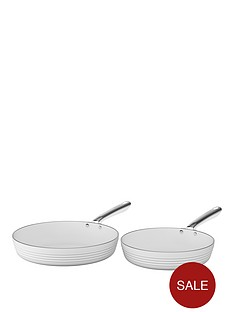 tower-linear-24cm-and-28cm-ceramic-coated-fry-pan-set-white