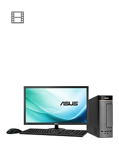 asus-k20bf-uk005t-amd-a10-processor-8gb-ram-1tb-hard-drive-236-inch-desktop-bundle-with-optional-microsoft-office-365-personal-silver