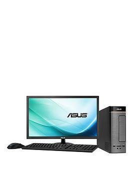 asus-k20bf-uk005t-amd-a10-processor-8gb-ram-1tb-hard-drive-236-inch-desktop-bundle-with-optional-microsoft-office-365-personal-silver
