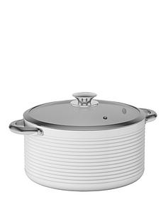 tower-linear-24cm-ceramic-coated-casserole-pan-white