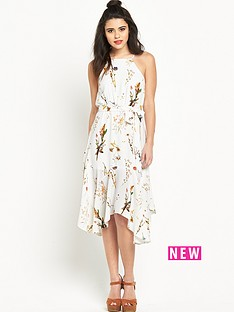 river-island-river-island-hanky-hem-printed-dress