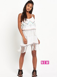 river-island-river-island-print-fringe-dress