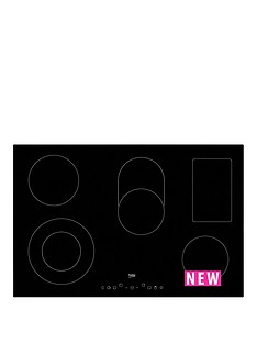 beko-hic85402t-80cm-built-in-ceramic-hob-with-optional-connection-black