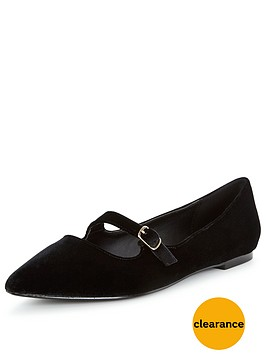 v-by-very-florence-velvet-point-flat-shoes-black