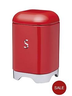 lovellonbspsugarnbspcanister-in-scarlet-red