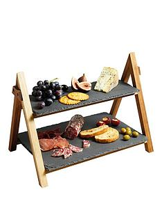 master-class-artesagrave-two-tier-serving-stand-40x30x25cm