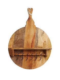 master-class-master-class-large-mango-wood-posdeacutecor-board-with-shelf-round-57x77x35cm