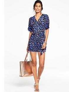v-by-very-printed-belted-waist-playsuit