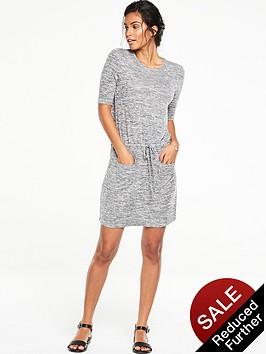 v-by-very-pocket-front-drawstring-dress