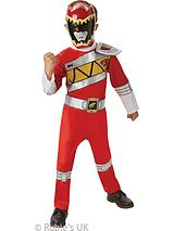 Red Deluxe Power Ranger - Child Costume