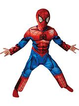 Ultimate Spiderman Deluxe - Childs Costume