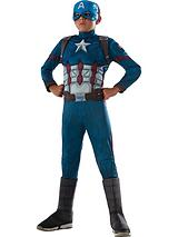 Marvel Captain America Deluxe Muscle Chest - Childs Costume