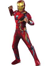 Marvel Iron Man Deluxe Muscle Chest - Childs Costume