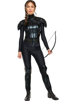 The Hunger Games Katniss 'Rebel' Adult Costume | very.co.uk