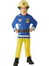 Fireman Sam - Childs Costume