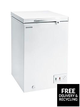 hoover-cfh106awk-102-litre-chest-freezer-white