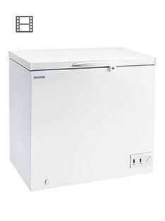 hoover-cfh157awk-146-litre-chest-freezer-white